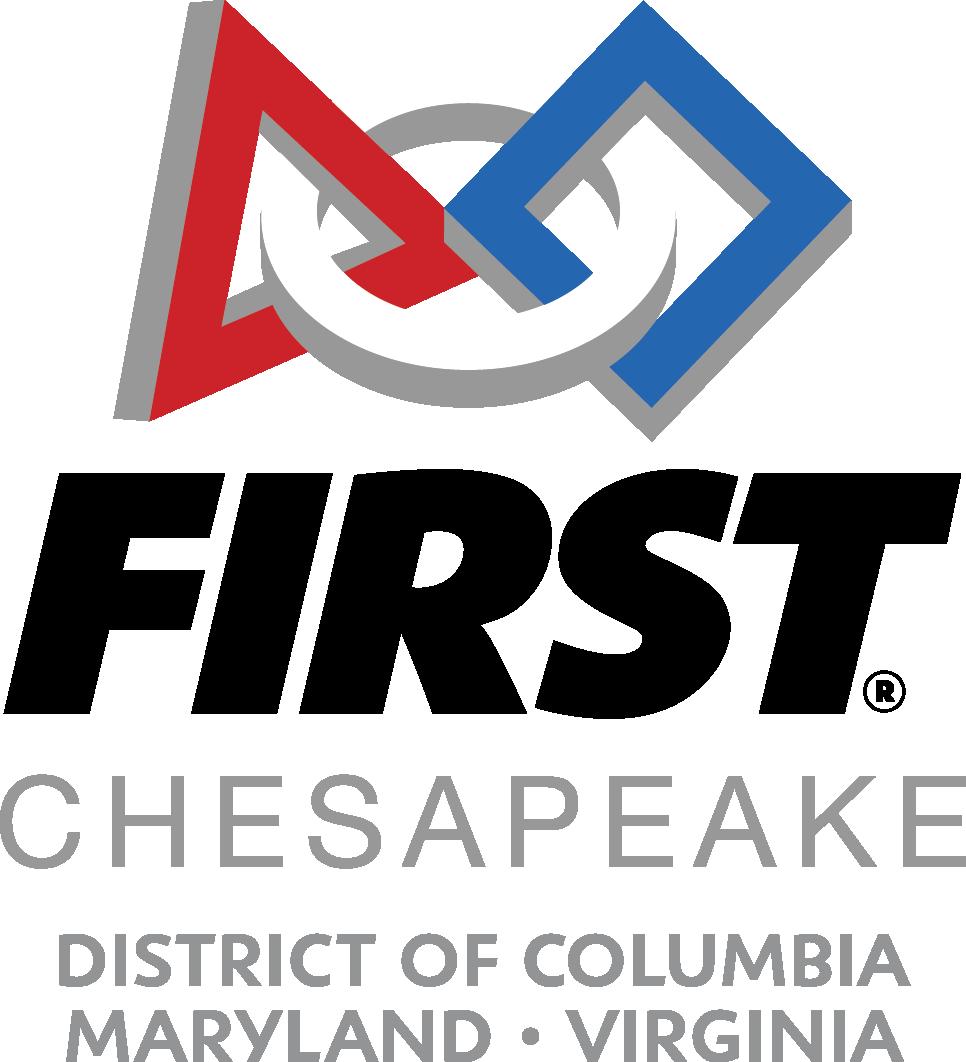 FIRST Chesapeake District Championship Event (robotics) logo